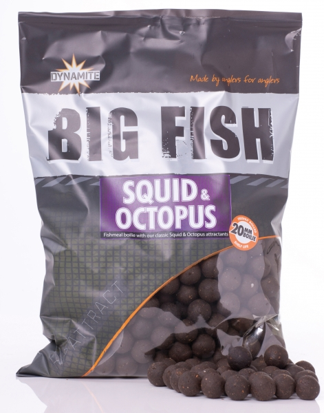 Squid & Octopus Boilies 20mm 1.8kg