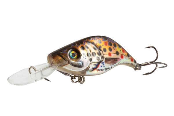 Sparky Shad 4cm. Sinking