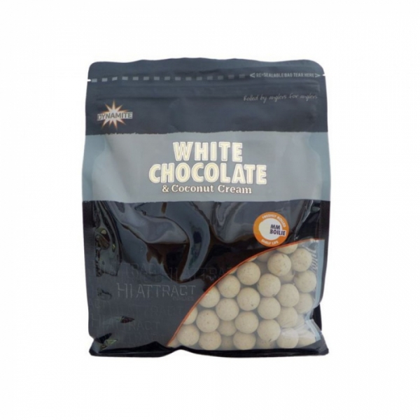 White Chocolate & Coconut Cream Boilies 20mm 1kg